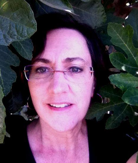 Kitt Framed by Fig Leaves