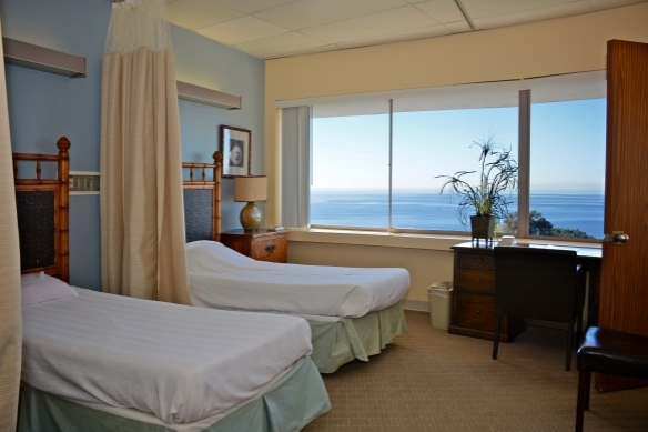 Room View of Pacific Ocean from Mission Hospital Laguna Beach