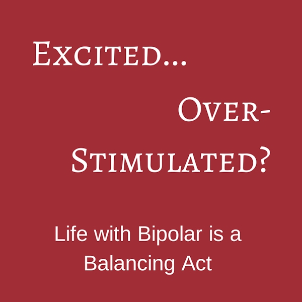 Excited...Over-Stimulated? Life with Bipolar is a Balancing Act