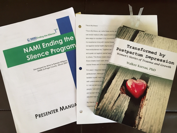 NAMI Ending the Silence Program, This is My Brave, Transformed by Postpartum Depression