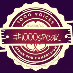 02/20/15 #1000speak 1000 Voices Speak for Compassion