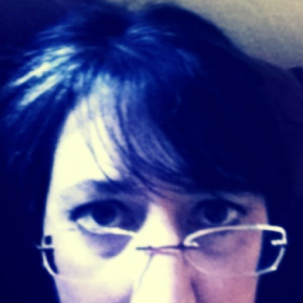 Peering over my glasses as Iponder my choices