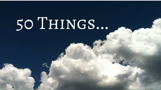 50 Things...