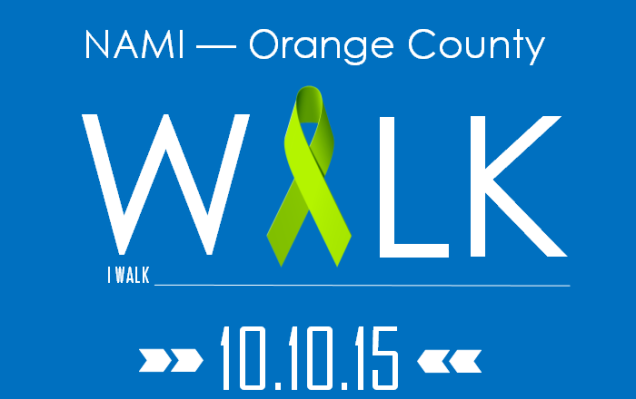 NAMI - Orange County WALK 10-10-15