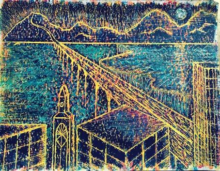 City Fall by Amanda Lipp