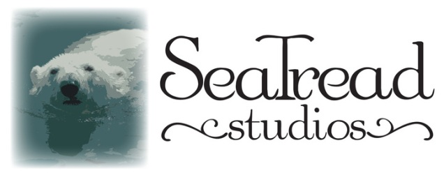 SeaTread Studios and image of polar bear