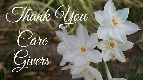 Thank You Care Givers