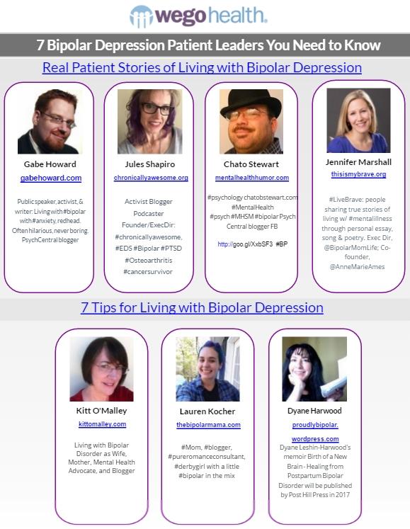 WEGO Health 7 Bipolar Depression Leaders You Need to Know