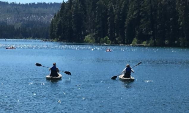 Sisters Kayaking