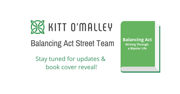 Balancing Act Street Team. Stay tuned for updates & book cover reveal.